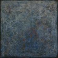 Mixed media on canvas. 96 x 100 cm