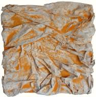 Mixed media on canvas. 33 x 32,5 cm