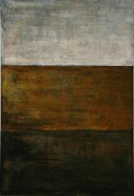 Mixed media on canvas. 210 x 140 cm