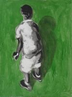 Boy. Mixed media on canvas