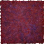 Mixed media on canvas. 150 x 150 cm