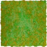 Mixed media on canvas. 61,5 x 61,5 cm