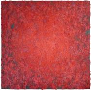 Mixed media on canvas. 196 x 196 cm