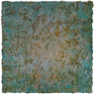 Mixed media on canvas. 100 x 100 cm