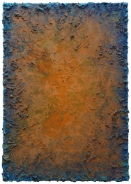 Mixed media on canvas. 115 x 81 cm