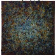 Mixed media on canvas. 60x60 cm